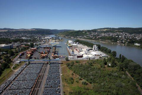 Hafen Andernach Rekordumsatz