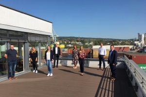 Stadtwerke gratulieren Auszubildenden zum bestandenen Abschluss